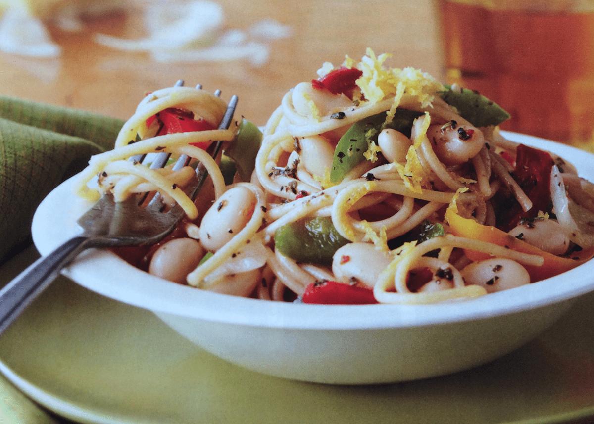 Pasta and Pepper Primavera