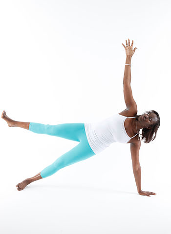 side plank yoga pose